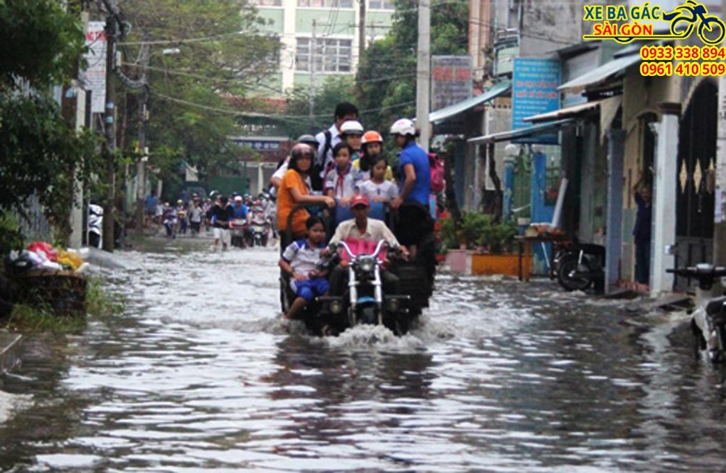 Xe ba gác chở thuê Hồ Chí Minh giá rẻ