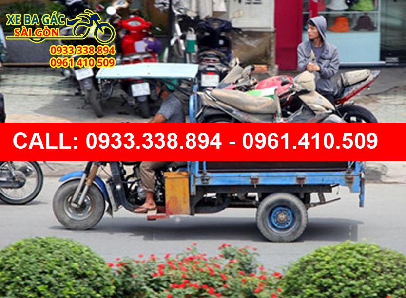 Xe ba gác chở thuê quận 2 giá rẻ - 09333338894