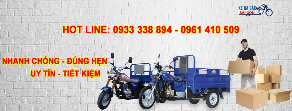 Xe ba gác chở thuê quận 7 giá rẻ - 09333338894 - ảnh 2
